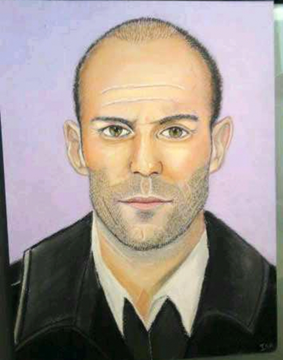 Jason Statham by zabouchan